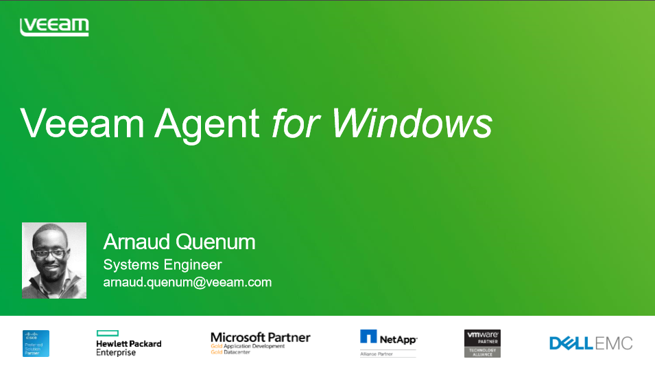 Veeam Agent for Windows