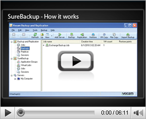 Veeam SureBackup - How it works
