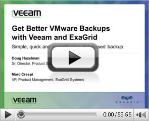 Get Better VMware Backups with Veeam & ExaGrid