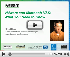 VMware and Microsoft VSS: What you need to know