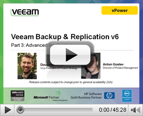 Veeam Backup & Replication v6. Part 3: Advanced Replication
