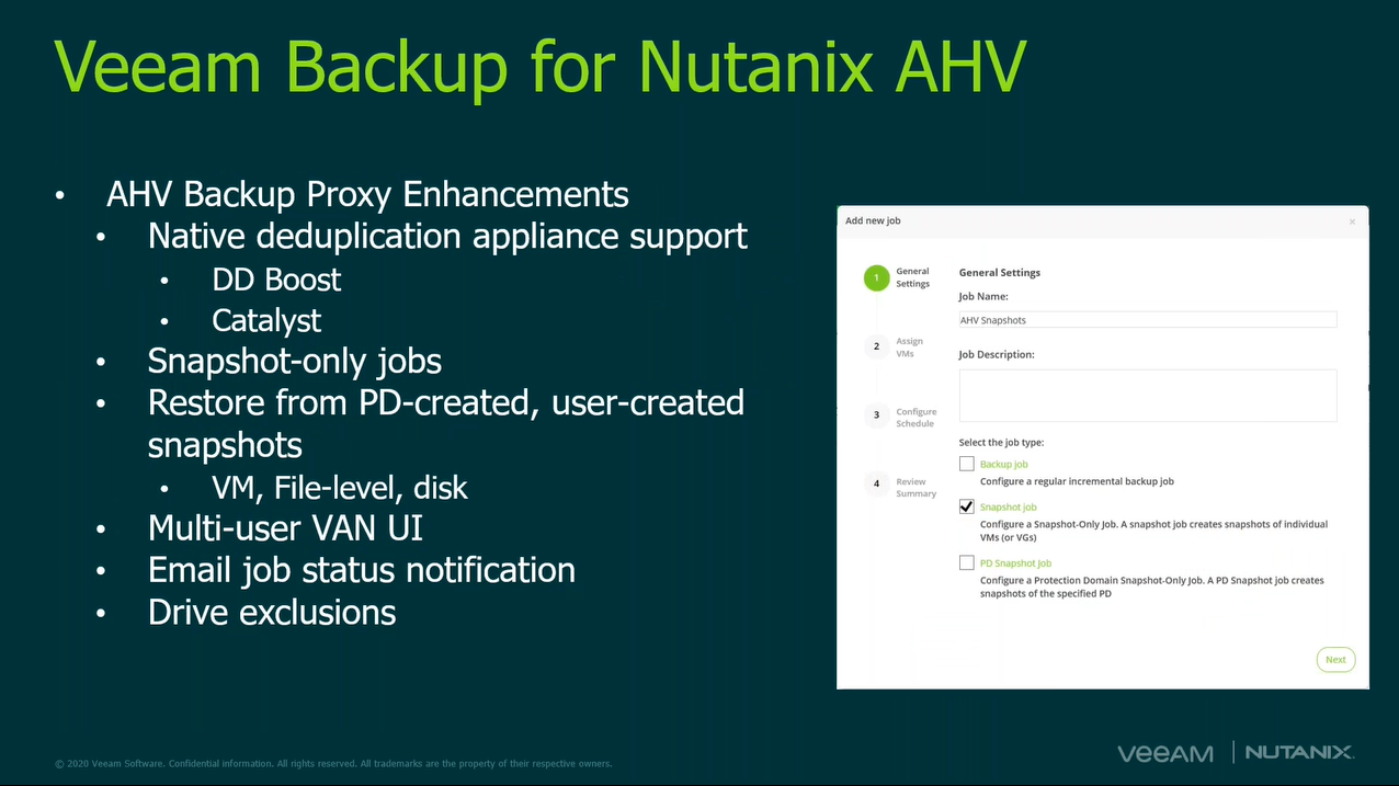 Protect your data simply with Nutanix Mine with Veeam