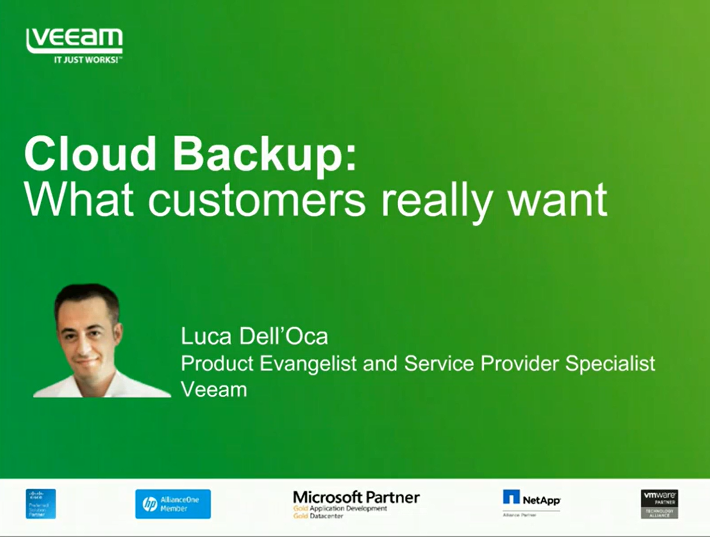 Cloud Backup: What Customers Really Want