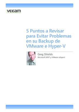 5 Puntos a Revisar para Evitar Problemas en su Backup de VMware e Hyper-V