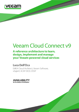 Veeam Cloud Connect v9: A Reference Architecture