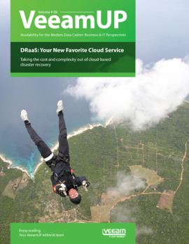 VeeamUP, Volume 8. DRaaS: Your New Favorite Cloud Service