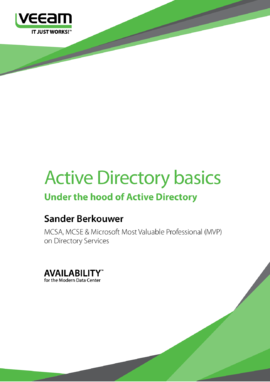 Active Directory basics: Under the hood of Active Directory (for Windows Server 2012 R2)