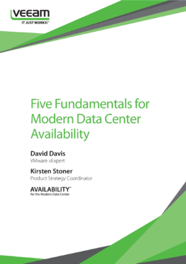 5 Fundamentals for Modern Data Center Availability