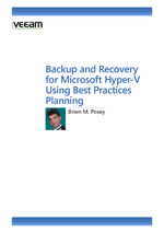 Hyper-V Backup and Recovery Planning Best Practices