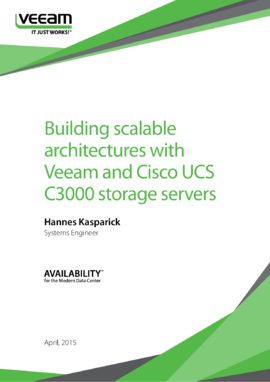 Building Scalable Data Centers with Veeam and Cisco UCS