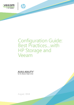 Configuration Guide: Best Practices with HP Storage and Veeam