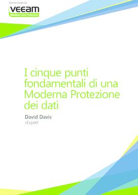 I 5 punti fondamentali della Modern Data Protection