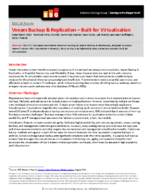 ESG Lab Review: Veeam Backup & Replication – Built for Virtualization