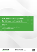 Virtualization management for VMware environments