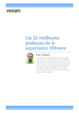 Les 10 meilleures pratiques de la supervision VMware