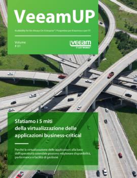 VeeamUP, Volume 1: Sfatiamo i 5 miti della virtualizzazione delle applicazioni business-critical