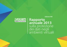 Rapporto annuale 2013 sulla protezione dei dati negli ambienti virtuali - Edizione PMI