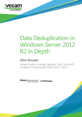 Data Deduplication in Windows Server 2012 R2 in Depth