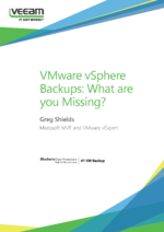 VMware vSphere Backups: What are you Missing?