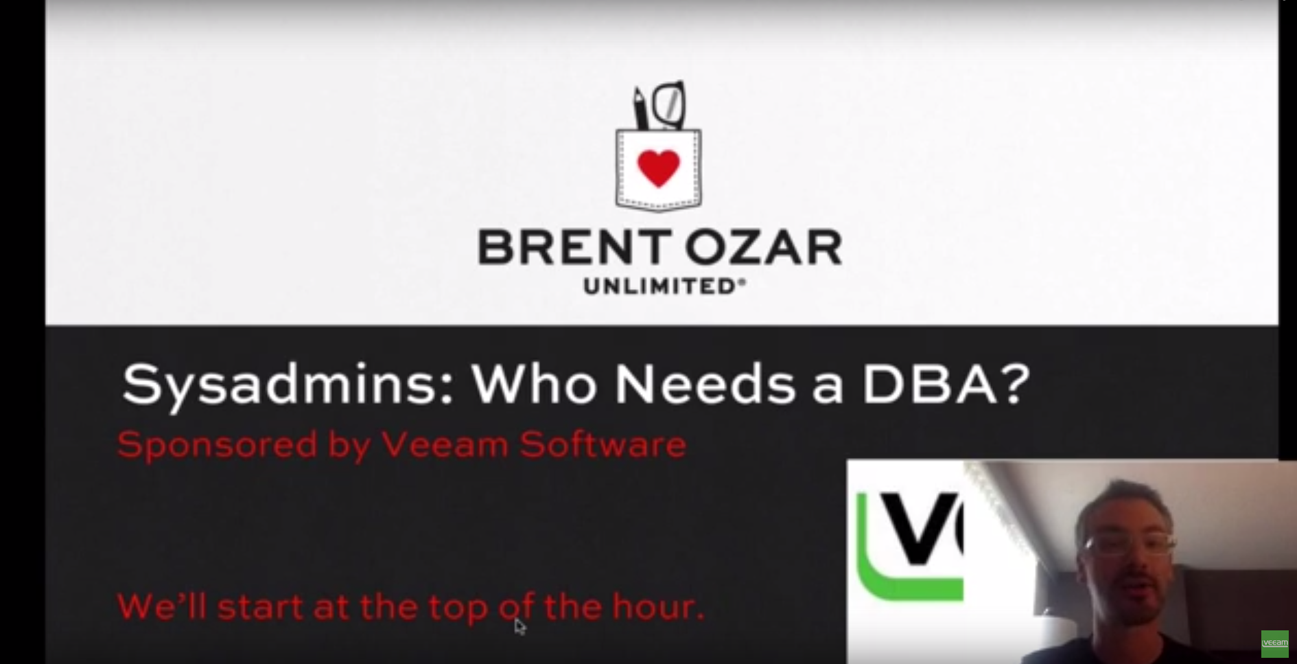 Sysadmins: Who Needs a DBA? With Brent Ozar